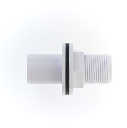 MaKe Overflow Straight Tank Connector 22mm