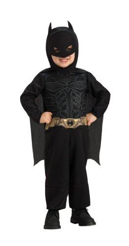 Original Lizenz Batman Kostüm für Kinder - The Dark Knight mit Umhang und Maske - 1-2 Jahre