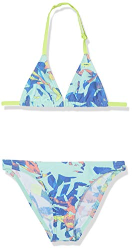 O'Neill dames bikini PG Oceano BIKINI-5920 Blue AOP W/YELLOW-oranje-164