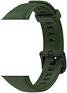 Silicone Straps Smart Watch Belt Wristband Replacement For Huawei Honor Band 6 Green