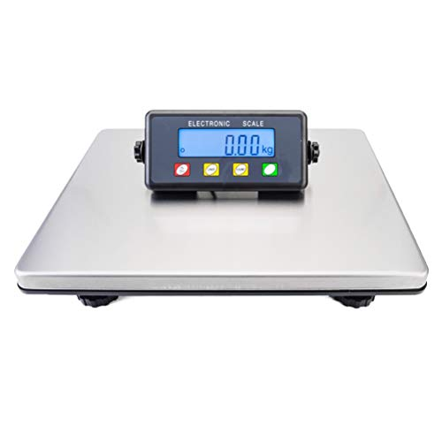 Hot Wing 200kg/50g LCD Digital Postal Scale Silver Without Adapter Digital Platform Postal Parcel Scales Industrial Scales