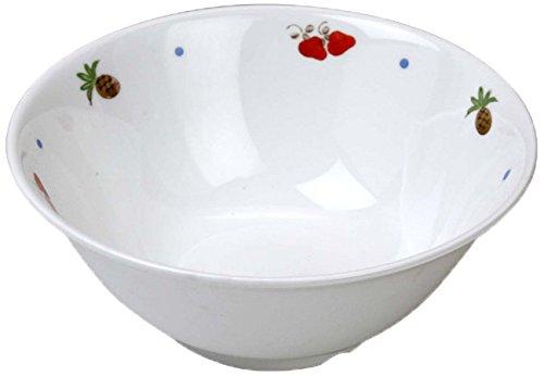 ランチャン(Ranchant) ボール(特大) マルチ Φ16x6.6cm フルーツ 有田焼 日本製