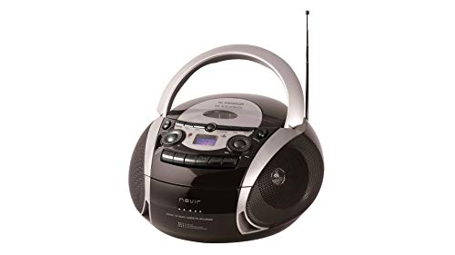 NEVIR Radio CD CASSATTE NVR-482UCM Negro