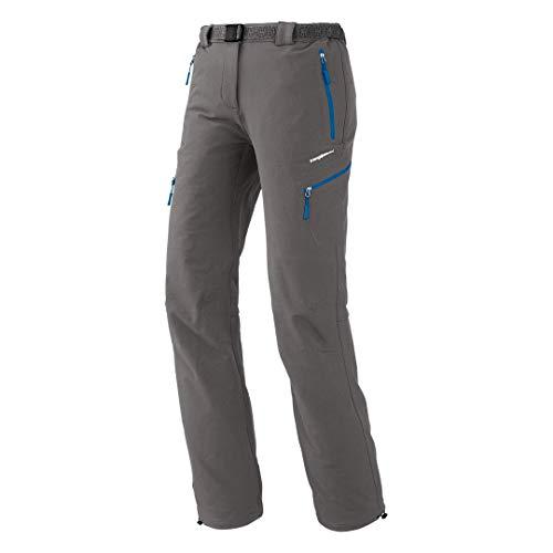 Trangoworld Wifa UA Pantalon Long pour Femme, Gris Nickel, XL
