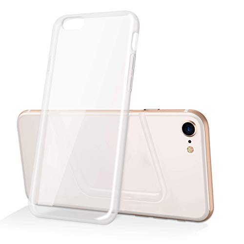 mtb more energy Funda Clear & Slim para Apple iPhone 6+, 6 Plus, 6S Plus (5.5'') - Transparente - Flexible - Delgada - Gel TPU Silicona Carcasa Suave Cascara