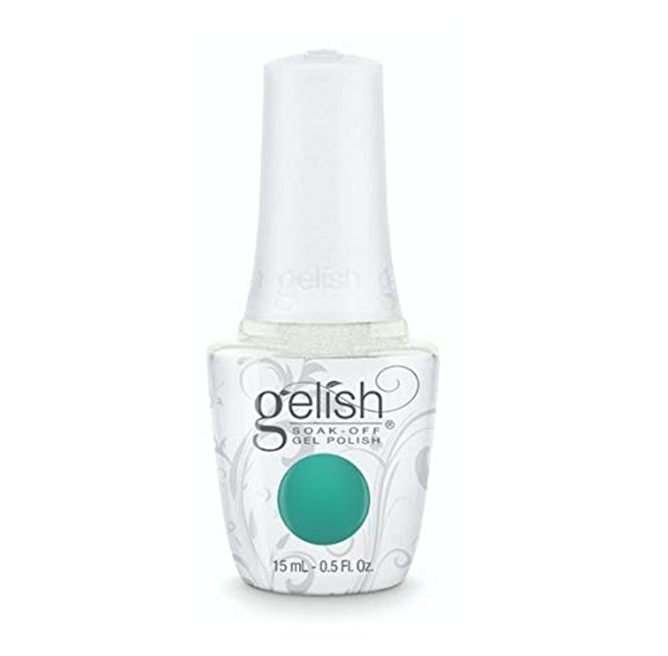 雇った意外ハンサムHarmony Gelish - Rocketman Collection - Sir Teal To You - 15ml / 0.5oz