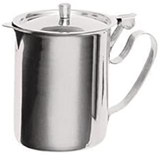 Stainless Steel Sugar-Creamer Table Top Server - 10 Ounce Capacity by Pride Of India