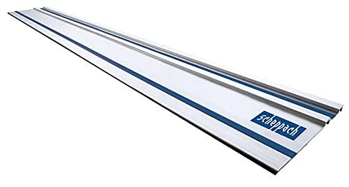 Scheppach / Kity Führungsschiene 1400 mm für Tauchsäge / Handkreissäge PL55 / PL75 (für präzise und ausrissfreie Schnitte, gerade Schnitte, Halt am Werkstück, leichtgängig)