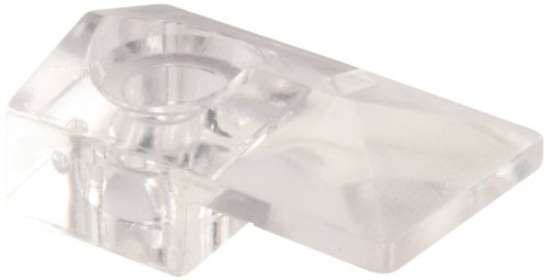 Prime-Line Products U 9278 Mirror Clip with Screw and Anchor, Modern,(Pack of 6),Clear