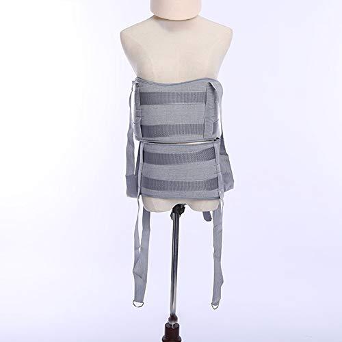 YFGlgy Die ultimative Rückentrage/Lendenwirbelsäulen-Dekompressionsgurt-Traktionsvorrichtung für die Wirbelsäulen-Lendenwirbelsäule,XL