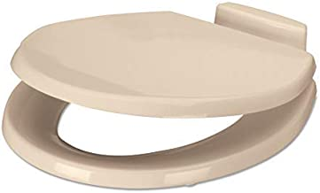 Dometic Slow Close Wood Toilet Seat - Bone- Fits 310 and 311 Series Toilets