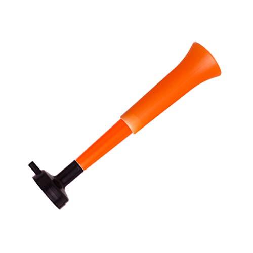 FUN FAN LINE - Pack x3 Trompetas Vuvuzela Dos cuerpos. Accesorio para fútbol y Celebraciones Deportivas. Bocina de Aire ruidosa para la animación Ideal para Transportar. (Holanda)
