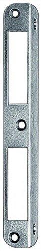 Winkel-Schließblech L.170mm S.1,5mm re./li.verw.Stahl NiSi ZT ktg.20mm