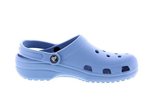 Crocs Unisex Adult Classic Clogs, Blue (Chambray Blue), 10 UK