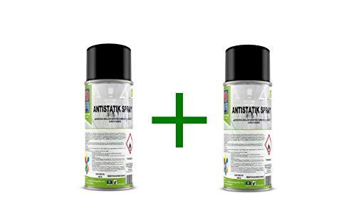 SEPCA Antistatische poeder, professionele antistatische spray met mop, bezems in Frangia, doeken en tuin. Vermijd herafzettingen van het poeder, 400 ml.