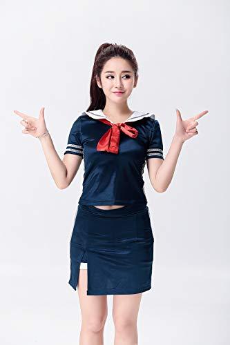 Cheerleading Kleding - Sailor Suit - Vrouwelijke Politie Geladen met Nationale Luchtvaart Zusters - Marine Service Attendant Kostuums Geschikt voor Voetbal Baby Groep/Glee Choir/jazz Dance DS Group Kostuums/fem