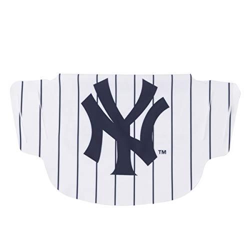 New York Yankees Pin Stripe Face Mask