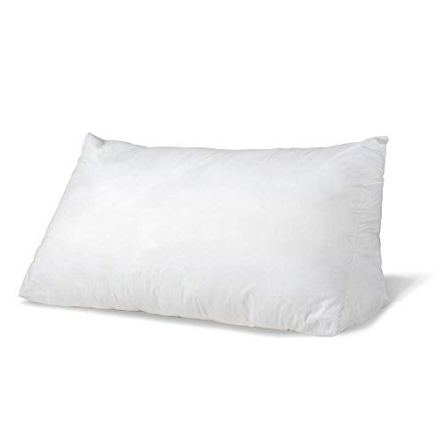 eLuxurySupply Reading Wedge Bed Pillows| Two Fill Options to Choose from - Down and Down Alternative | Cotton Casing Made in The USA