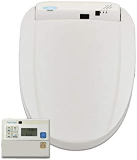 Feel Fresh HI-6001WT Elongated Electric Bidet with Wireless Remote Control, White