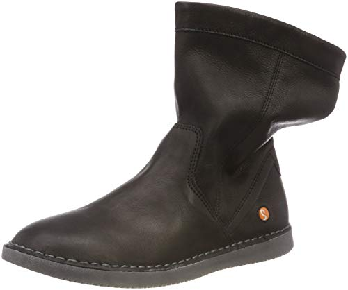 Softinos TIL402SOF Damen Slouch Boots, Schwarz (Black 008), 39 EU (6 UK)