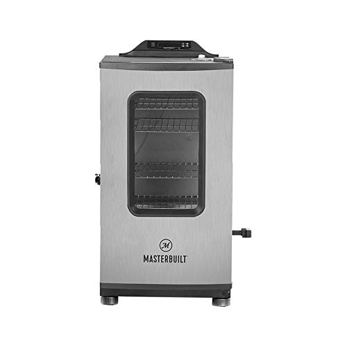 New Masterbuilt MB20073119 Mes 130g Bluetooth Digital Electric Smoker, Black