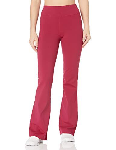 Skechers Walk Go Flex High Waisted 3 Pocket Flare Cut Pant Pantis, Bet Rojo, M para Mujer