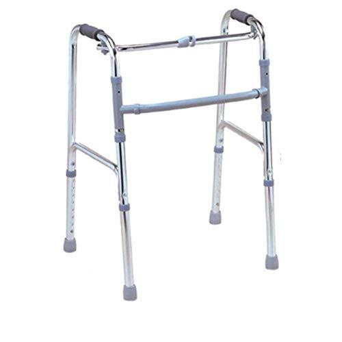 Andador con Andador, Conducción asistida para Caminar Ligeramente Ajustable, Andador de Aluminio Muletas para sillas de Ruedas Peatones Mayores