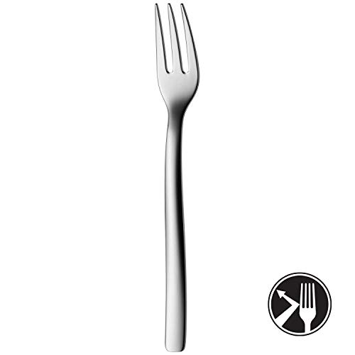 WMF Atic Kuchengabel, 15,9 cm, Cromargan protect Edelstahl poliert, glänzend, kratzbeständig, spülmaschinengeeignet