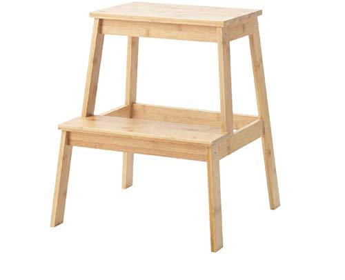 IKEA TENHULT Tritthocker, 43 x 40 x 50 cm, Bambus