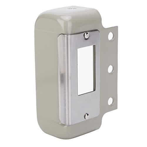 Safety Door Lock, Anti‑Theft Electronic Door Lock, Powdered Iron Super Sensitive 9‑12V 2 Wire for Iron Doors