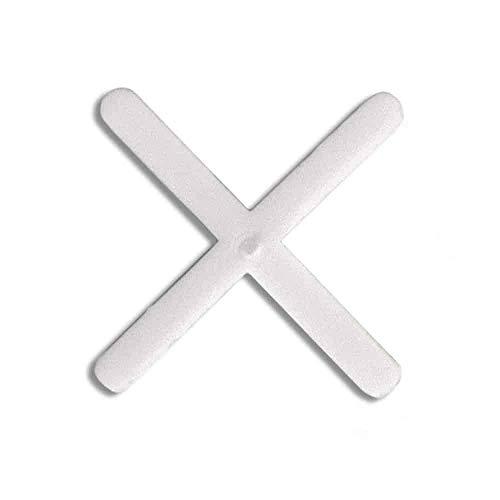 Rubi 2901 crucetas para juntas, Blanco, 2 mm, Set de 300 Piezas