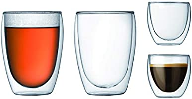 Bodum Pavina Double Walled Thermo Glasses, Set of 2
