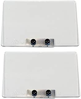 DeWalt DW756 Bench Grinder Replacement Set of 2 Eye Shield W/Screws # 286439-00