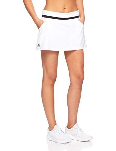 adidas Club Skirt - Falda, Mujer, Blanco(Blanco)