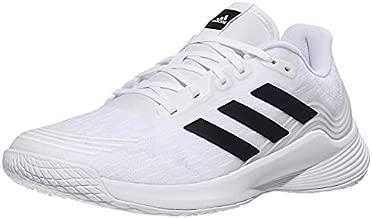 adidas Women's Novaflight Volleyball Shoes, White/Core Black/White, 8