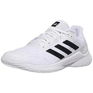 adidas Women's Novaflight Volleyball Shoes, White/Core Black/White, 7.5