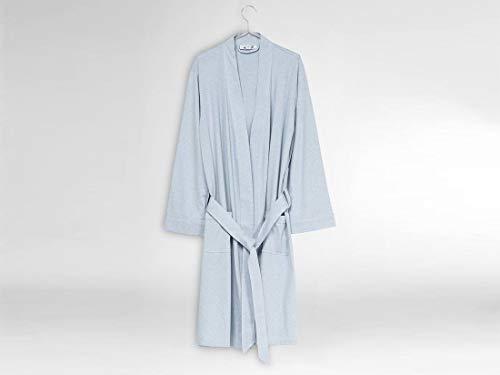 Badjas jersey soft blue M/L