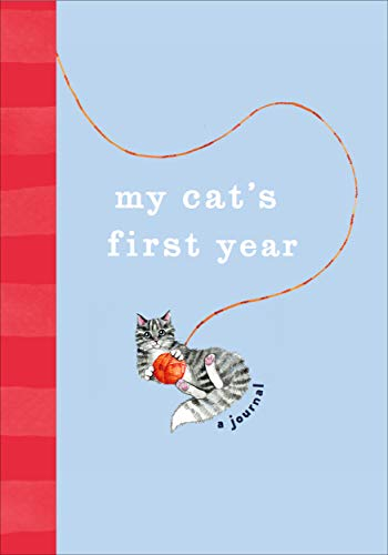 My Cat's First Year: A Journal (Pet Record Book)