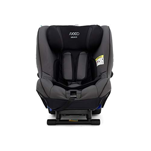 Axkid Minikid 2 rückwärtsgerichteter Kindersitz Auto 0-25 kg Reboarder Autositz (Solid Granite)