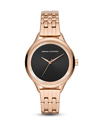 Armani Exchange Reloj Analógico para Mujer de Cuarzo con Correa en Acero Inoxidable AX5606
