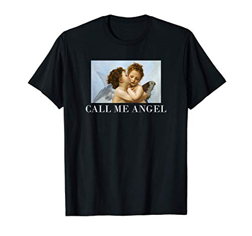 Call me Angel - Vintage Engel T-Shirt