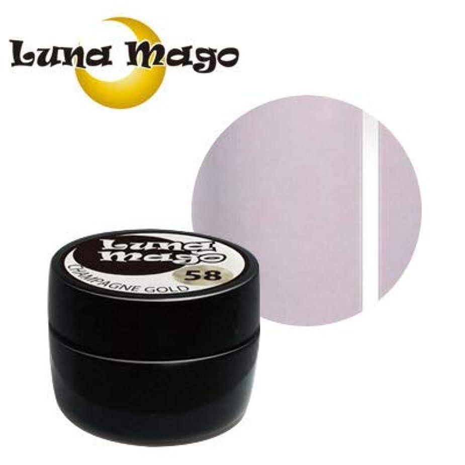 反抗アラーム移民Luna Mago カラージェル 5g 046 ライトパープル