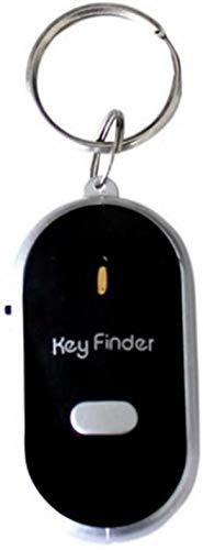 SUNMUCH Pfeife Schlüsselfinder Schlüsselanhänger Schlüsselfinder Sucher mit Ton LED mit Pfeifenklappen
