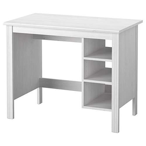 IKEA BRUSALI Schreibtisch weiß 90 cm 52 cm 73 cm