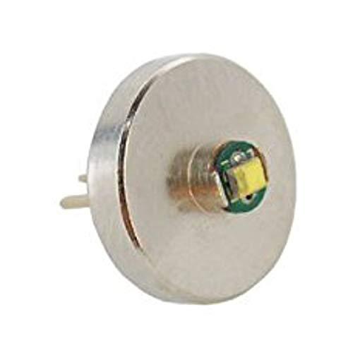 HQRP Bombilla de alta intensidad 3W Bi-Pin 3W 60 lúmenes para linterna 1 AAA Maglite Solitaire V0.0