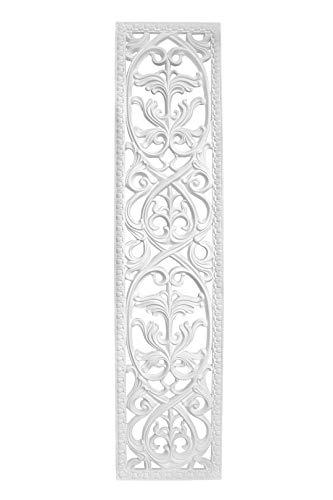 Wandornament | vorgrundiertes schlagfestes Polyurethane | Bild | Klassisch | Verzierung | weiß | PU | Hexim Perfect | 1800 x 400 mm | K4044