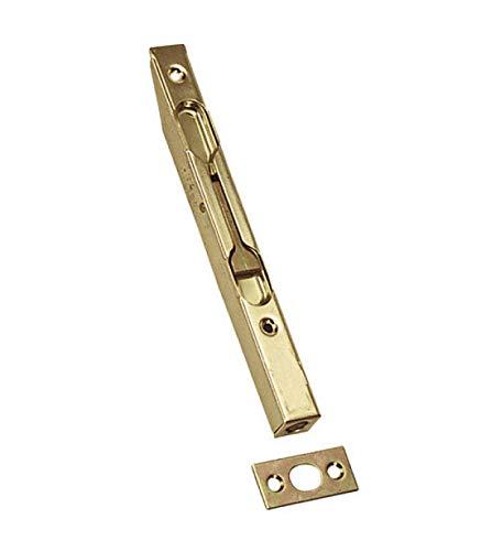 5,5 pulgadas de aleacion de zinc puerta corrediza tono de bloqueo pestillo barril perno de bronce TOOGOO R Hebilla de puerta