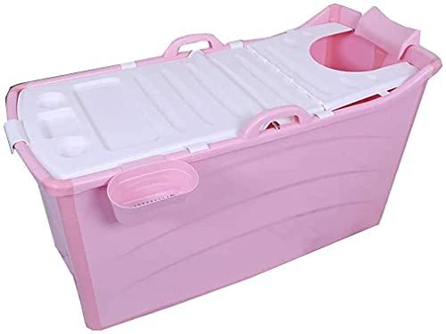 Vasca da bagno pieghevole per adulti, Piscina portatile Piscina Piscina per bambini Barilotto da bagno per bambini, Grande vasca portatile per uso domestico, lungo tempo di isolamento