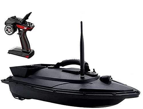 Barco de cebo , Pesca Bait Boat RC Barco, control remoto Barco de pesca Barco de cebo con motor doble potente alta velocidad RC Racing Boat for Kids Adultos Regalos de pesca , Arrastre de pesca con co