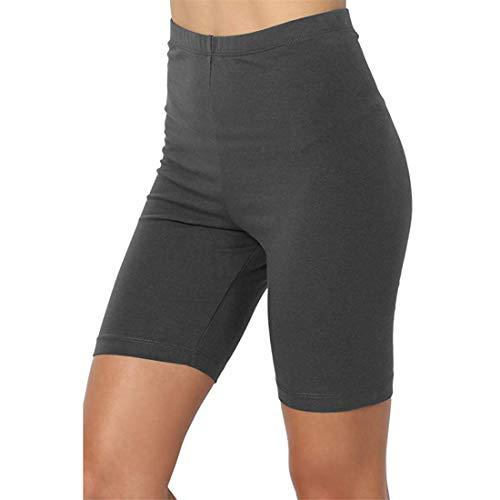 Femme Fitness Legging Taille Haute Yoga Pantalon Court Push Up Shorts de Sport Elastique Collants de Course Gym Workout Jogging 3XL Dear-XiaoBao